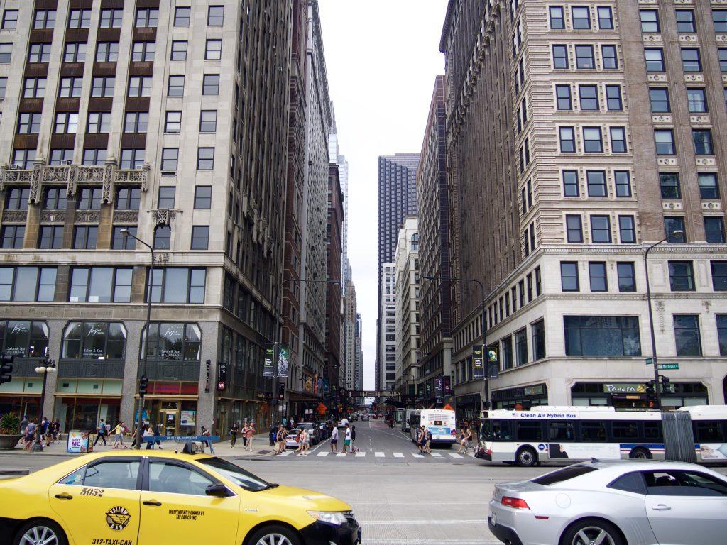 シカゴ繁華街