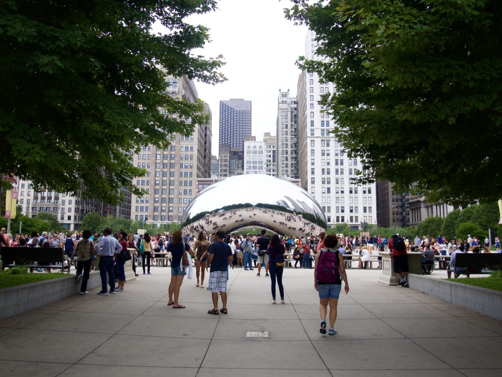 シカゴ ミレニアムパーク