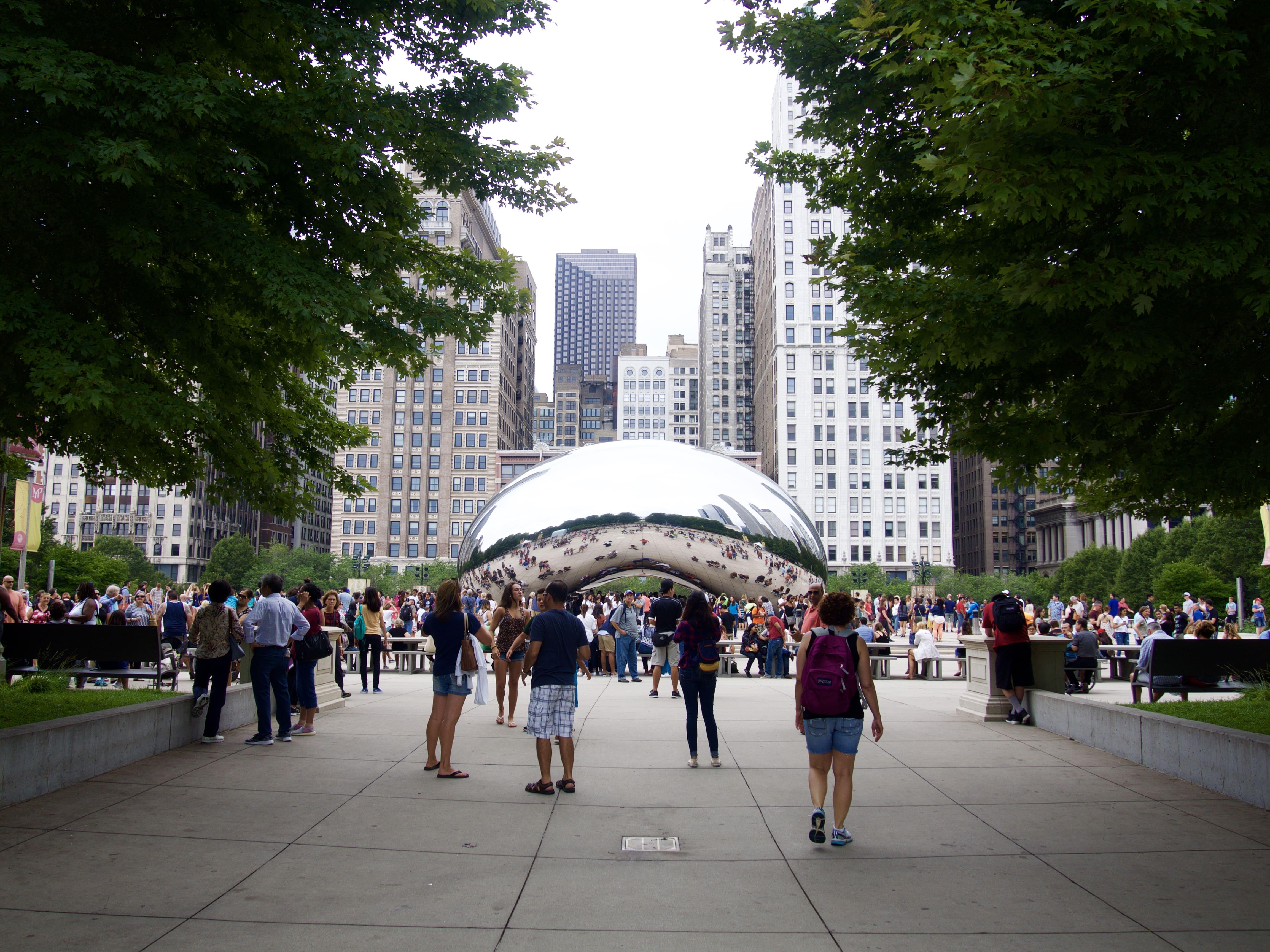 芸術の街「シカゴ」の観光で撮った写真を公開します!