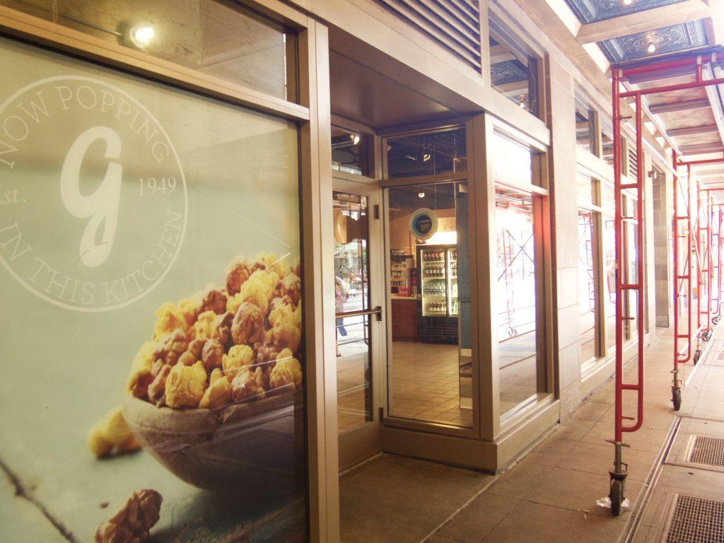 シカゴ Garrett Popcorn Shops