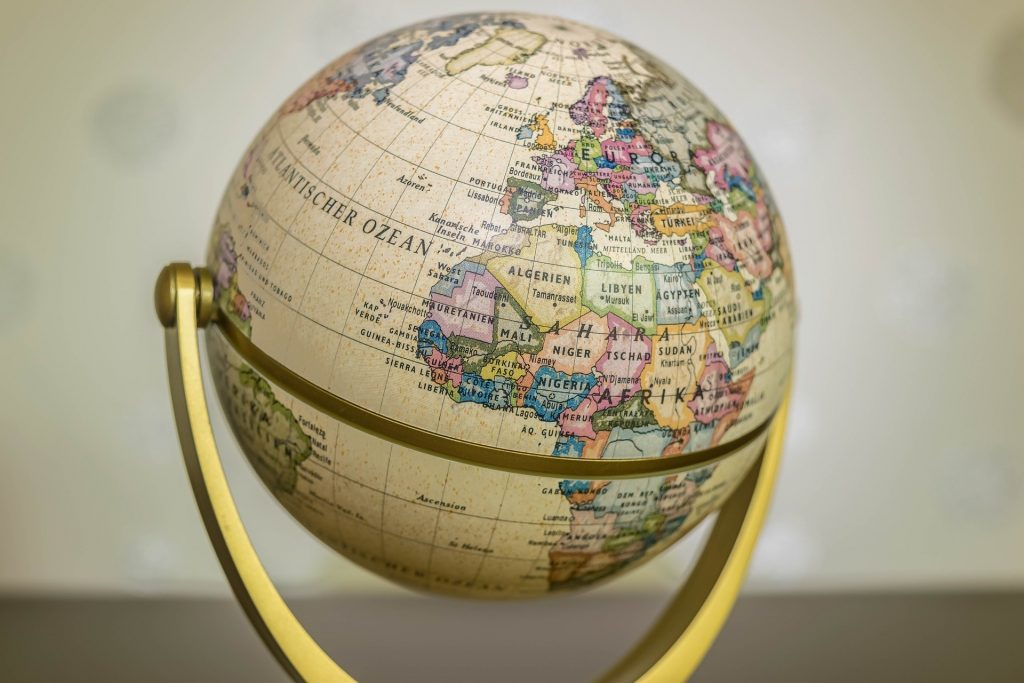 グローバル化している地球